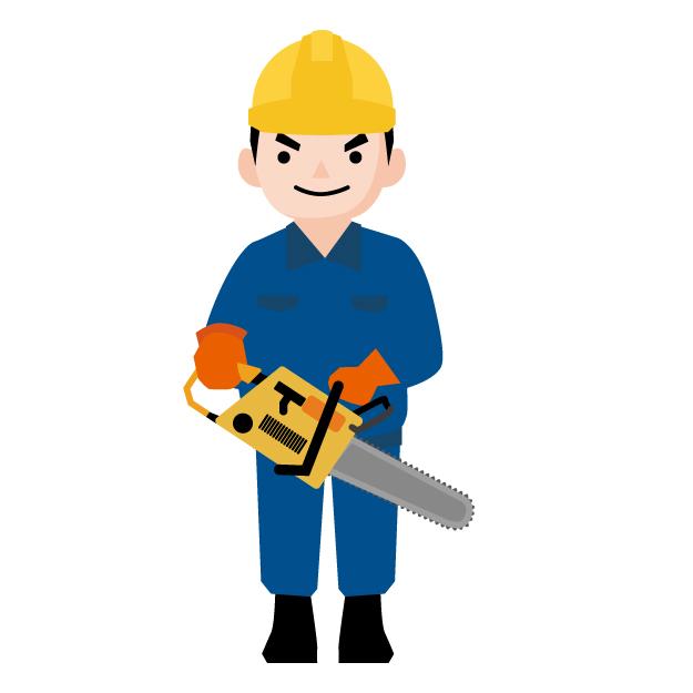 チェーンソーの伐採方法|準備するもの・作業の流れ・注意点を解説!